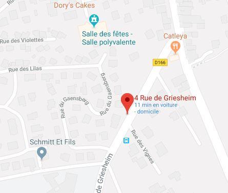 Maison des associations, Commune de  Berstett, Rue du noyer, 67370 Rumersheim